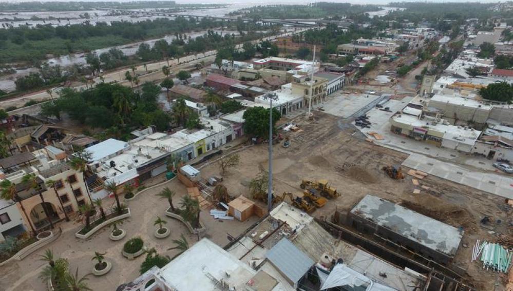 Así ha quedado una ciudad mexicana tras el paso de 'Lidia'