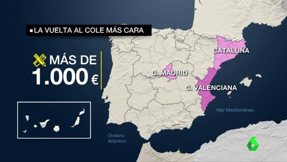 La vuelta al cole volverá a ser más cara que el año anterior: un 5% y un gasto  medio de 400 euros
