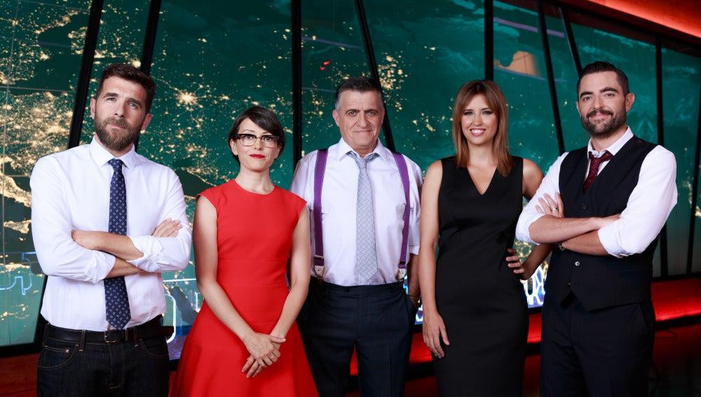 Foto oficial del equipo de El Intermedio