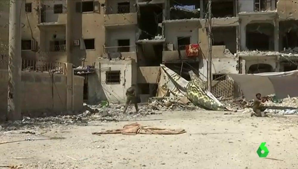 La ONU prevé la expulsión de Daesh en Raqqa para octubre