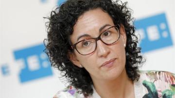 La portavoz parlamentaria de Junts pel Sí, Marta Rovira