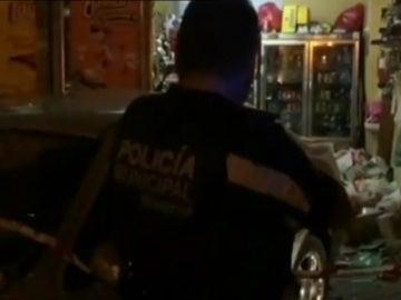 Lugar en el que ha muerto un niño atropellado por un vehículo en Madrid
