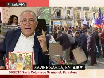 """Xavier Sardà: """"No soy independentista pero esto hay que intentar asumirlo cómo se produce"""""""