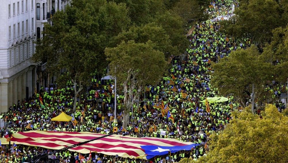 Manifestación de la Diada 2017