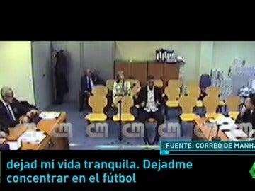 """El vídeo inédito de la declaración de Cristiano Ronaldo ante la jueza: """"Míreme a los ojos"""""""