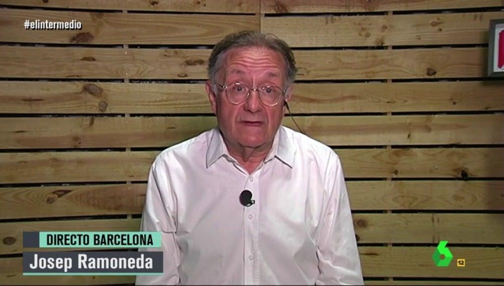 Josep Ramoneda en El Intermedio