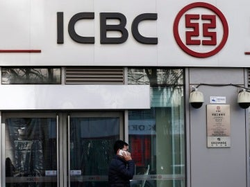 una sucursal del banco Industrial and Commercial Bank of China (ICBC)