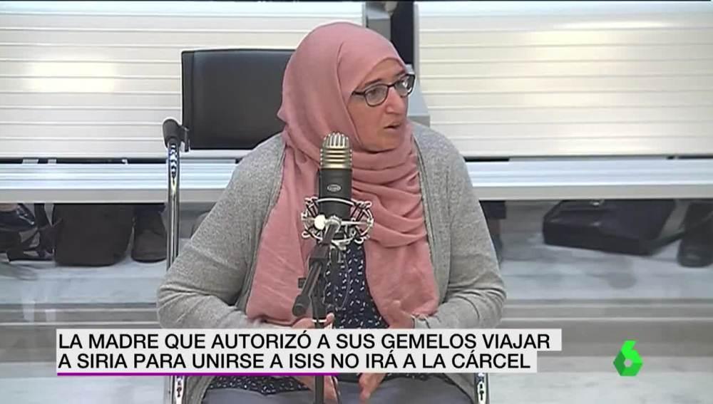 Imagen de la madre que autorizó a sus gemelos a unirse a Daesh
