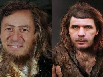 Rafael Hernando y José María Aznar
