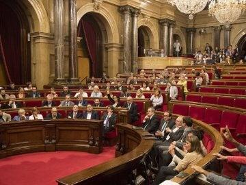 Votación en el Parlament de la Ley de Transitoriedad