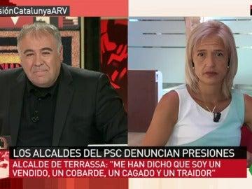 La alcaldesa de Esplugues de Llobregat, Pilar Díaz