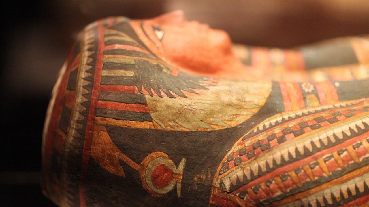 Imagen de archivo de un sarcófago