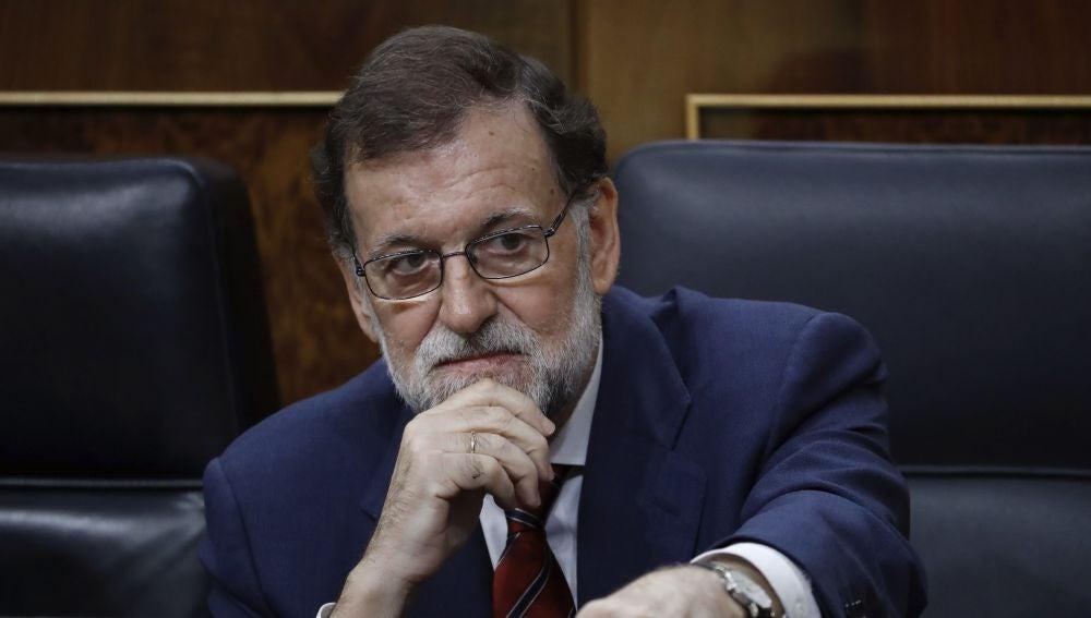 El presidente de Gobierno, Mariano Rajoy
