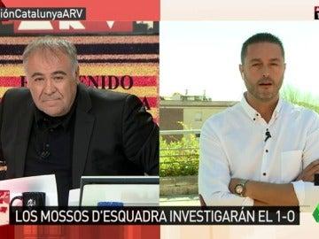 El secretario general Sindicat de Mossos d'Esquadra, Toni Castejón