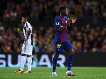 Dembelé aplaude