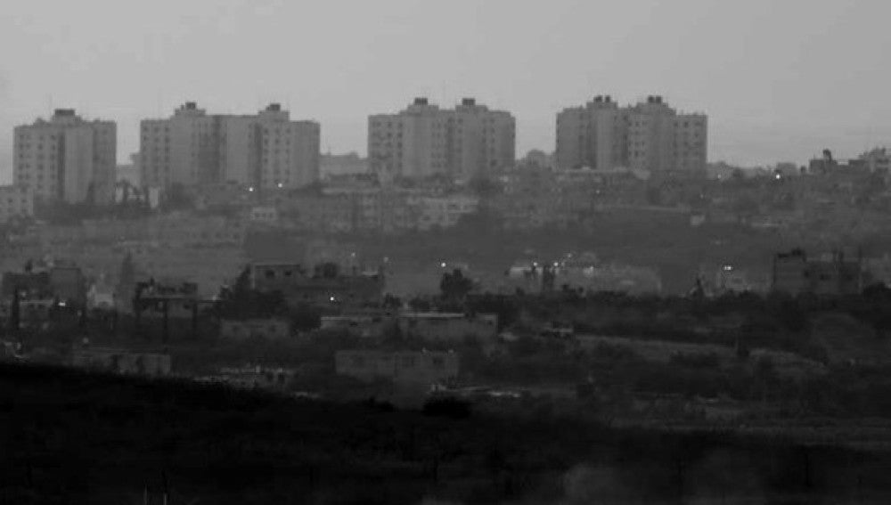 Imagen de archivo de la franja de Gaza