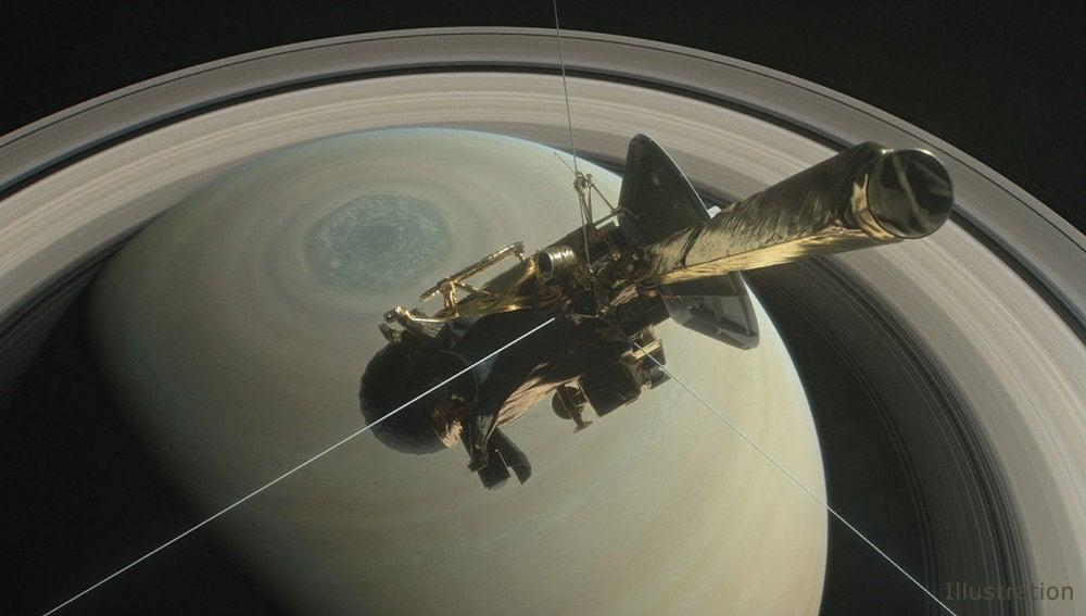 Final espectacular de la mision Cassini