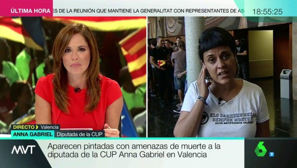 Anna Gabriel, diputada de la CUP
