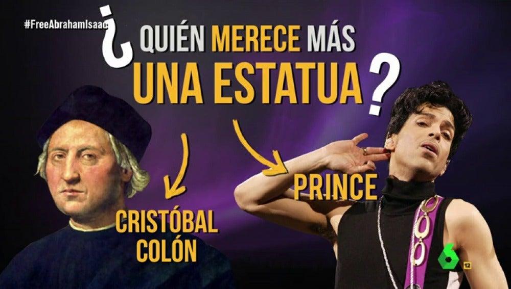 ¿Prince o Cristóbal Colón?