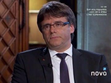 Carles Puigdemont en El Intermedio