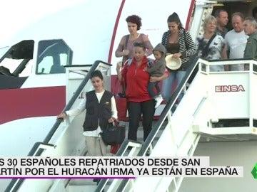 llegan españoles