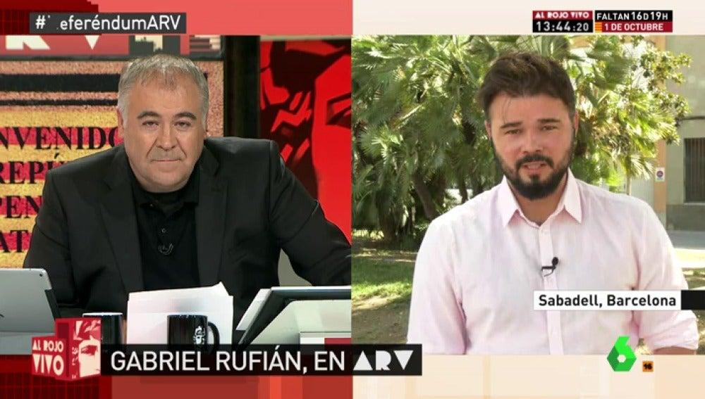 """Gabriel Rufián califica de """"entidades supranacionales"""" a """"Varoufakis y Assange"""""""
