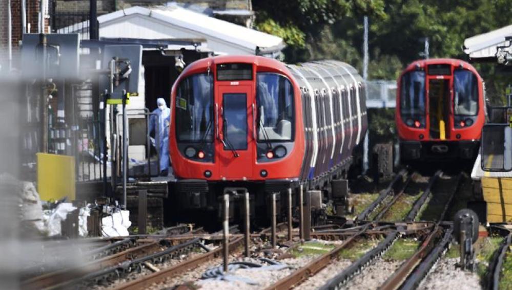 Así era el vagón que intentaron detonar los terroristas