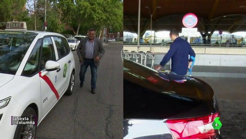 laSexta Columna compara un viaje en taxi y otro en Uber: ¿Cuál es más cómodo y económico?