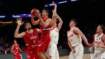 Serbia-Rusia del Eurobasket