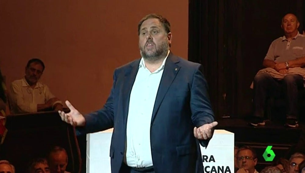 Vicepresidente de la Generalitat, Oriol Junqueras