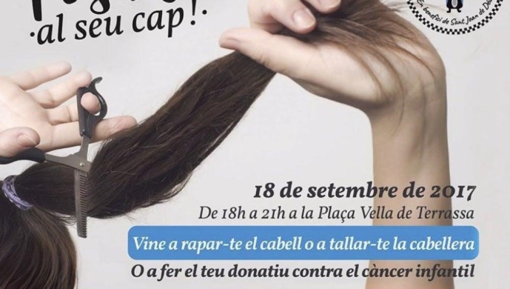 Imagen de la campaña 'Ponte en su cabeza' promovida por la Policía Municipal de Terrassa