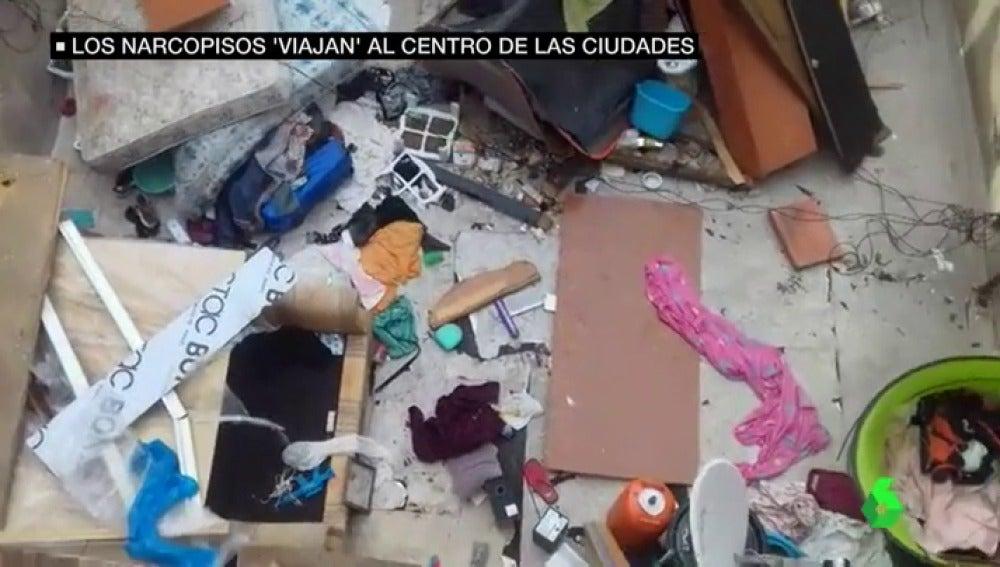 Uno de los narcopisos de Madrid