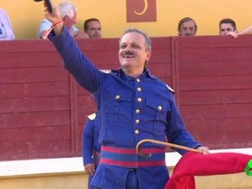 Rafael Celis, bombero torero