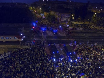 Vecinos de Murcia piden el soterramiento de las vías por las que está previsto que el AVE llegue a la ciudad
