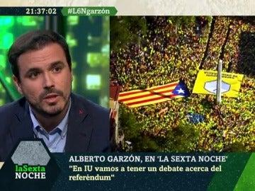 Alberto Garzón en laSexta Noche