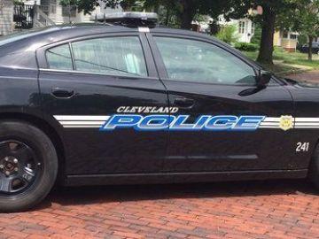 Un coche de la policía local de Cleveland