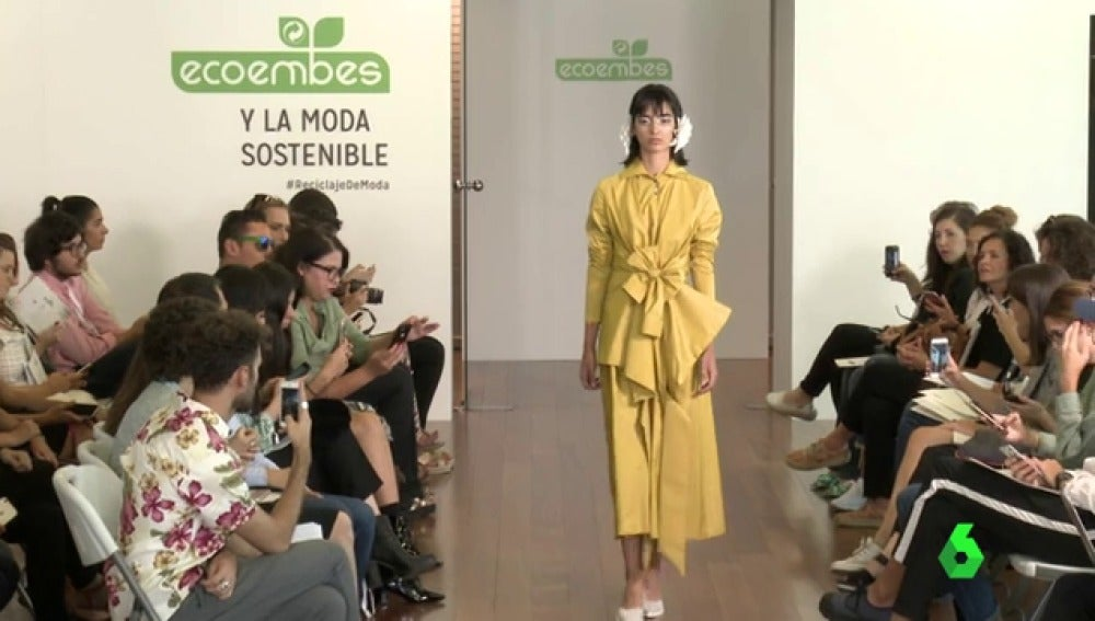 Ecoembes en el desfile de la Mercedes Benz Fashion Week de Madrid