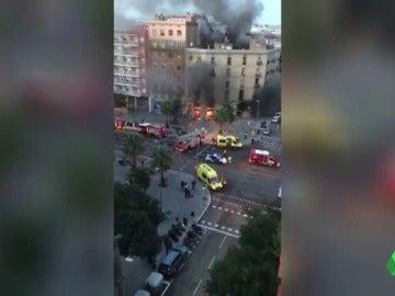 Una explosión en una panadería de Barcelona deja 21 heridos