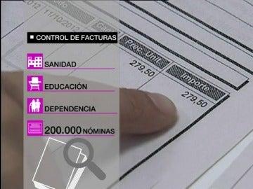 Sanidad, Educación, Dependencia y funcionarios, las facturas que controlará Hacienda