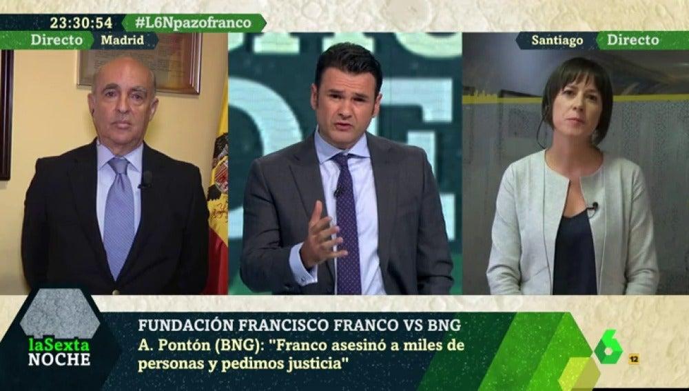Cara a cara entre el BNG y la Fundación Francisco Franco