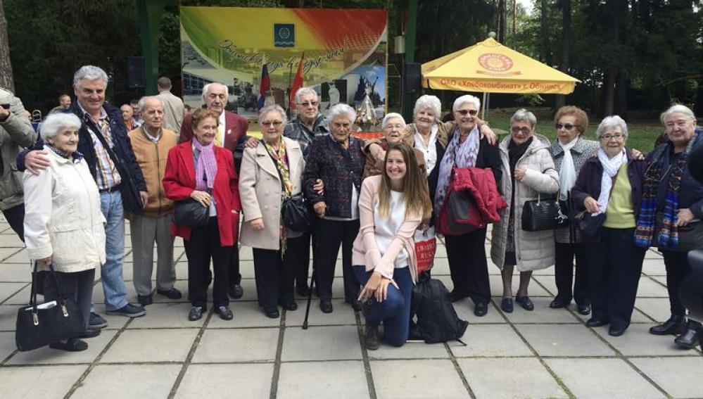 Los 'niños de la guerra' reviven con emoción 80 años de su acogida en la URSS