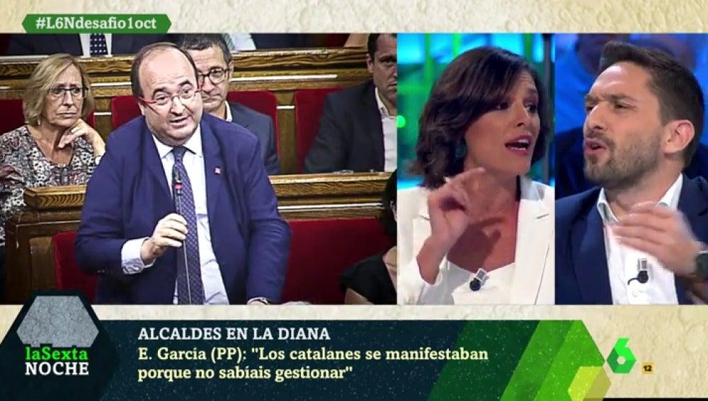 Esperanza García y Sergi Miquel