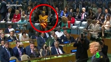 """Wyoming destapa la """"traición"""" de Cataluña en la Asamblea de la ONU: """"Una mujer vestida de senyera, ¡eso es 'product placement'!"""""""