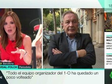 """Xavier Vidal-Folch: """"Es improbable que haya un referéndum en condiciones, habrá una reedición del 9N"""""""