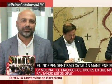 """José García Molina, sobre el 1-O: """"Votar nunca puede ser una cuestión ilegal que se persiga y se reprima"""""""