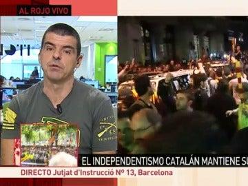 El periodista de laSexta, Manu Marlasca