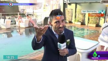 Pablo Cosano, el reportero que tira la caña en una fiesta de solteros