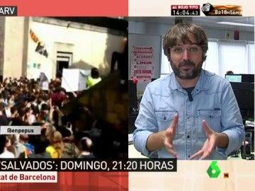 """Jordi Évole: """"Tenemos que votar porque no hay otra solución y hacer una reclamación intensa al Gobierno y PSOE"""""""