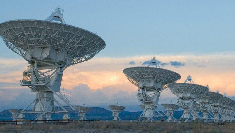 "Parte del VLA (Very Large Array), el mismo que apareció en la película ""Contact"" de Robert Zemeckis"