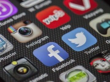 Instagram, Facebook y Twitter